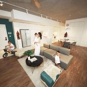Căn hộ 130 m2 ở trung tâm Hà Nội phá vỡ mọi nguyên tắc thiết kế truyền thống