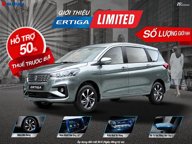 Hỗ trợ tối đa 100% lệ phí trước bạ cho 3 dòng xe nhập khẩu của Suzuki