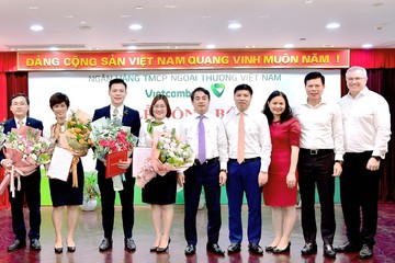 Vietcombank bổ nhiệm nhân sự trụ sở chính