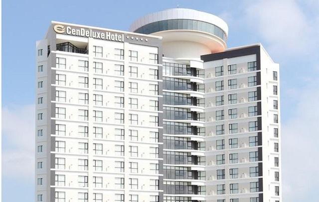 khách sạn 5 sao Cendeluxe 17 tầng. Ảnh: VNdaly.