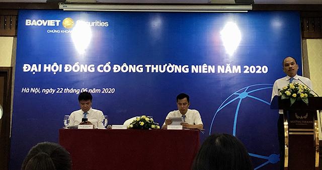 Đại hội cổ đông thường niên năm 2020 của BVSC. Ảnh: HT.