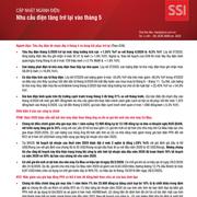 SSI Research: Ngành điện - Nhu cầu điện tăng trở lại vào tháng 5