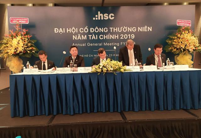 Họp ĐHĐCĐ HSC: Lãi trước thuế 6 tháng ước 310 tỷ đồng, đạt 55% kế hoạch