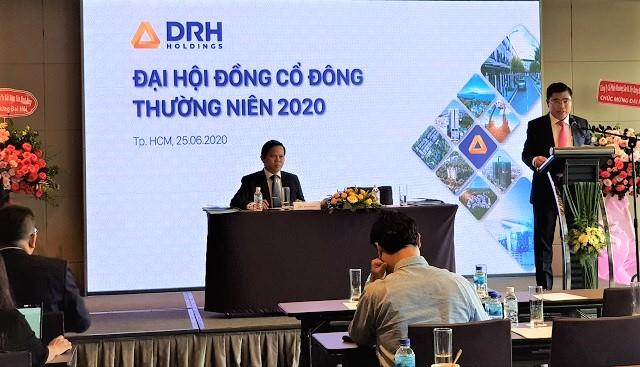 Họp ĐHĐCĐ DRH Holdings: Kế hoạch lãi trước thuế 75 tỷ đồng, tăng tỷ lệ sở hữu để KSB thành công ty con