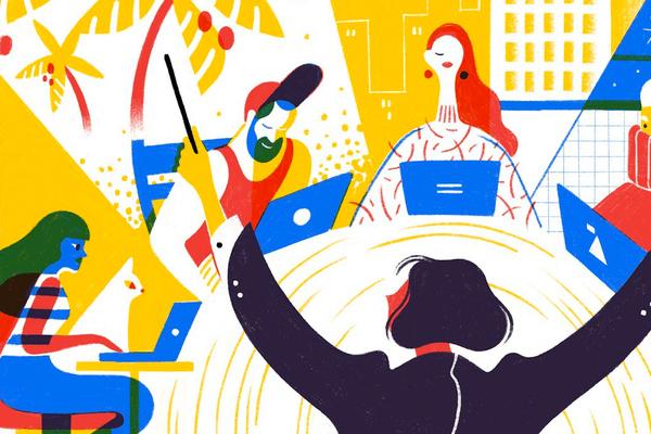 Làm việc từ xa: Xu hướng nhất thời hay hiện thực 'bất đắc dĩ'?