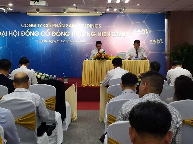 Họp SAM Holdings: Lợi nhuận 6 tháng ước đạt 25-26 tỷ đồng