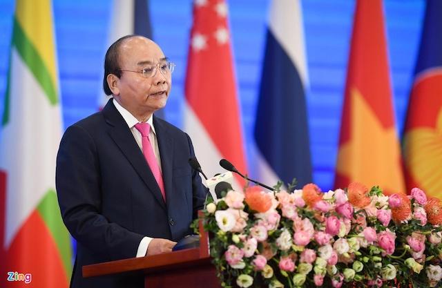 Thủ tướng hoan nghênh quyết tâm của các nước hoàn tất Hiệp định RCEP. Ảnh: Việt Hùng.