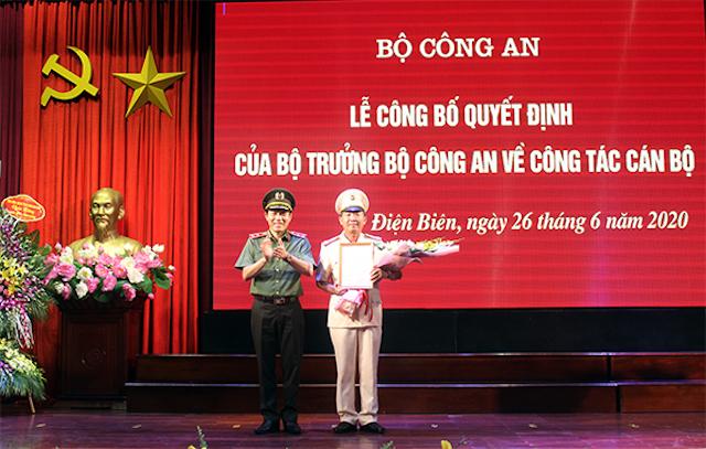 ông Tráng A Tủa, Phó Giám đốc Công an tỉnh Điện Biên