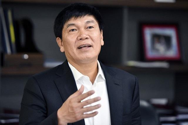 Chủ tịch Hòa Phát Trần Đình Long. Ảnh: HPG.