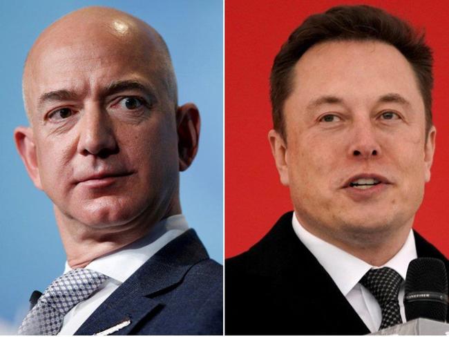 Elon Musk chế giễu CEO Amazon là kẻ bắt chước