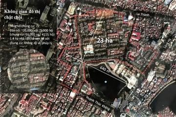 Xây lại khu tập thể Thành Công: Ecopark đề xuất được dùng đất chợ thay vì lấp hồ Thành Công