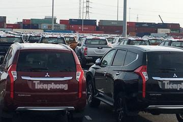 Nửa đầu năm 2020, ôtô nhập khẩu giảm 32.000 chiếc