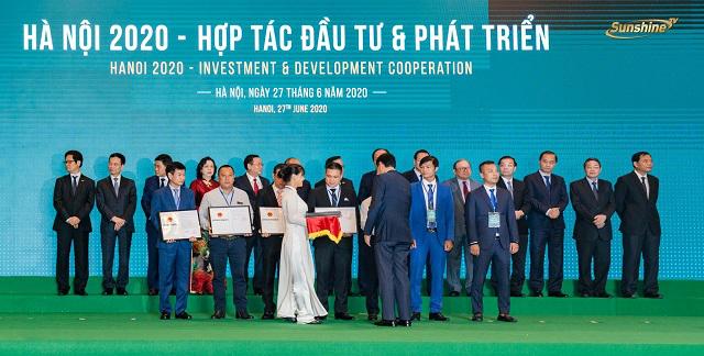 Hà Nội trao quyết định chủ trương đầu tư dự án Sunshine Empire, vốn hơn 7.000 tỷ đồng