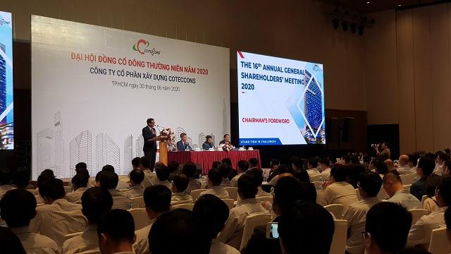 Họp ĐHĐCĐ Coteccons: Ông Nguyễn Bá Dương nói HĐQT đã đồng lòng, sẽ mua thêm cổ phiếu