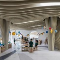 <p> Trường đề cao khả năng sáng tạo và phát triển tự nhiên của trẻ. Nhiều không gian được thiết kế để phục vụ cho mục đích này.</p>