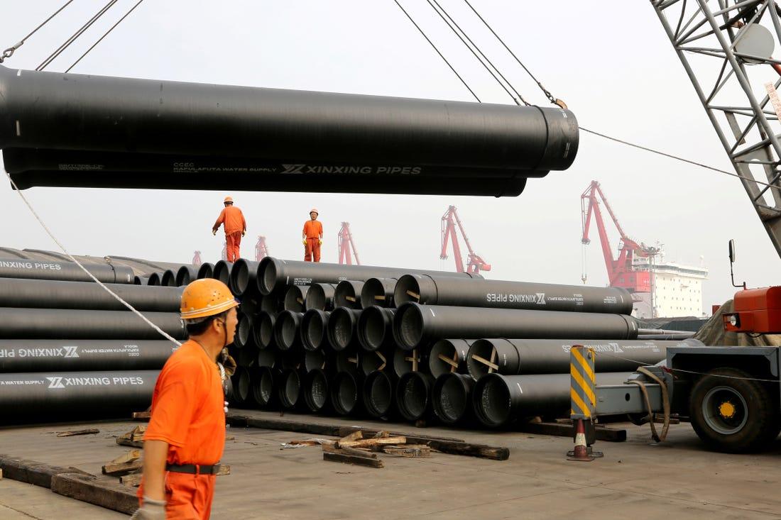 Sản xuất Trung Quốc bất ngờ tăng trong tháng 6, lên đỉnh nửa năm