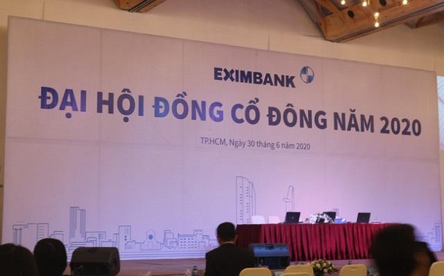 Phiên họp cổ đông của Eximbank bất thành.