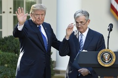 Trump: Ngày càng hài lòng với cách chủ tịch Fed hành động