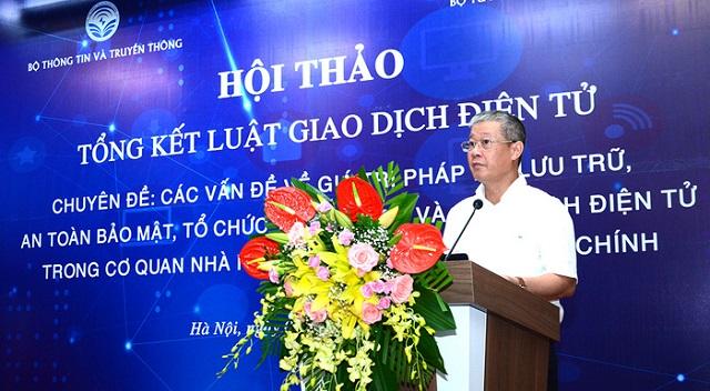 Thứ trưởng Nguyễn Thành Hưng: GDĐT sẽ ngày càng đóng vai trò quan trọng trong cuộc sống. Sau mỗi lần đại dịch, GDĐT càng phát triển mạnh.
