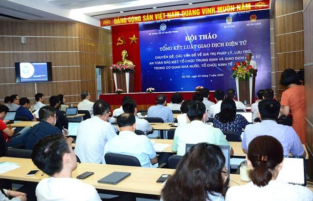 Thúc đẩy giao dịch điện tử tại Việt Nam cần cơ chế 'sandbox'