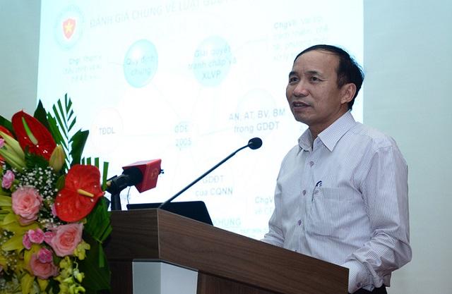 Ông Nguyễn Trọng Đường: Luật GDĐT là căn cứ để ban hành nhiều văn bản dưới luật.