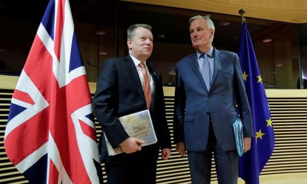 Anh và EU kết thúc sớm đàm phán hậu Brexit do bất đồng