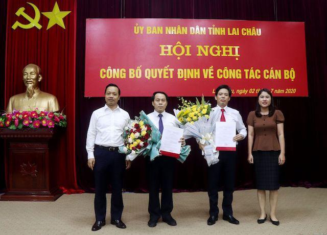 Lai Châu có hai tân giám đốc sở