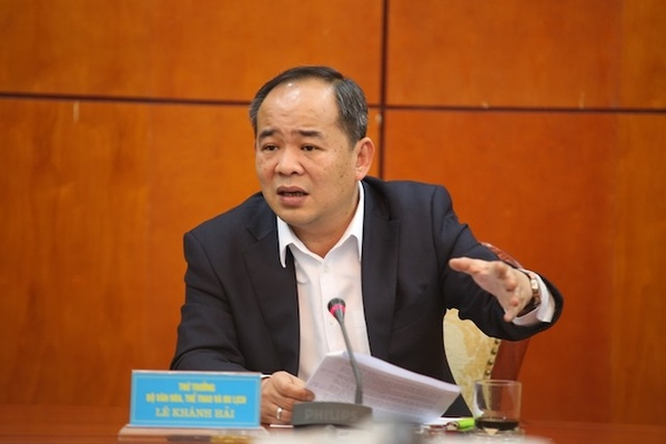 Thứ trưởng Văn hóa, Thể thao & Du lịch Lê Khánh Hải được tái bổ nhiệm