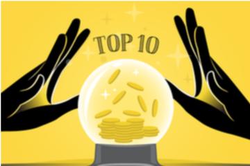 Top 10 cổ phiếu tăng/giảm mạnh nhất 6 tháng đầu năm: DBC, DGW lập đỉnh lịch sử