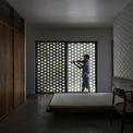 <p> Phòng ngủ được thiết kế tối giản.</p>