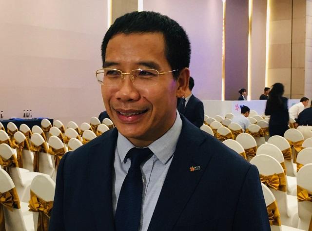 Tổng giám đốc MB Lưu Trung Thái. Ảnh: L.H.