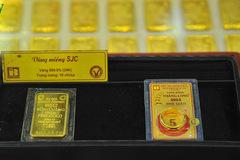 Giá bán vàng SJC tại một số ngân hàng vượt 50 triệu đồng/lượng