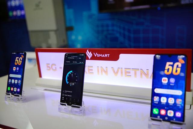 VinSmart tuyên bố phát triển thành công mẫu điện thoại 5G