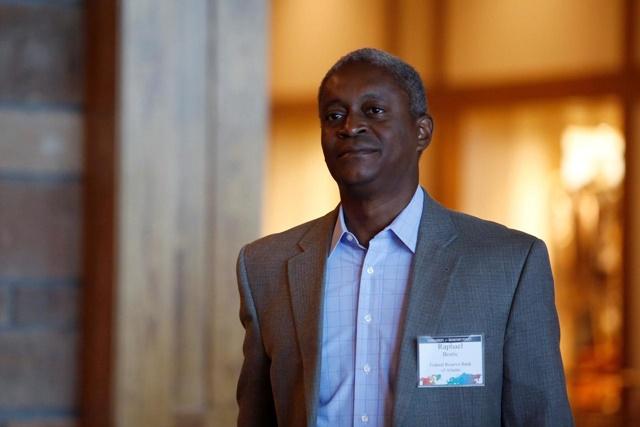 Raphael Bostic, chủ tịch Fed Atlanta. Ảnh: Reuters