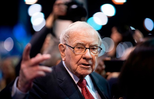 Warren Buffett vừa chi 2,9 tỷ USD làm từ thiện