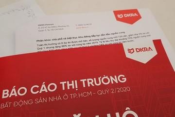 DKRA Việt Nam: TP HCM khan hiếm nguồn cung đất nền, cả quý có 3 dự án ra mắt