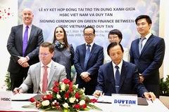 HSBC cấp gói tín dụng xanh đầu tiên cho dự án tái chế nhựa của doanh nghiệp Việt