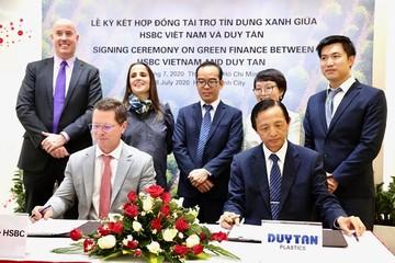 HSBC cấp gói tín dụng xanh đầu tiên tại Việt Nam cho dự án tái chế nhựa
