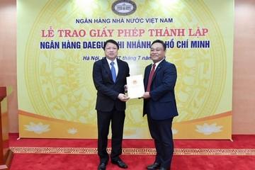 Thêm một ngân hàng Hàn Quốc có mặt tại Việt Nam