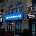 """<p> Hệ thống ngân hàng đa quốc gia Standard Chartered bị nhái lại thành """"Standard Chertered"""". <em>Ảnh: Weibo</em></p>"""