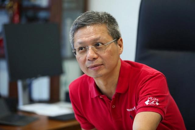 Tổng giám đốc Techcombank Nguyễn Lê Quốc Anh.