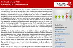 VDSC: Chiến lược đầu tư tháng 7 - Mùa công bố KQKD
