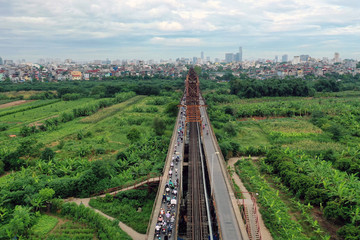 Hà Nội khởi động lại quy hoạch sông Hồng