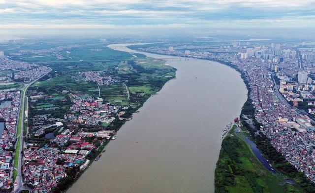 Hà Nội muốn xây dựng khu đô thị sinh thái hai bên bờ sông Hồng.
