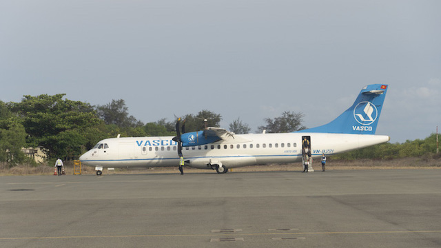 Hiện chỉ có VASCO đang khai thác tại sân bay Côn Đảo.