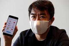 Startup Nhật nghiên cứu khẩu trang thông minh