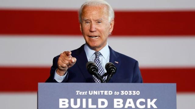 Ứng viên đảng Dân chủ Joe Biden. Ảnh: Reuters.