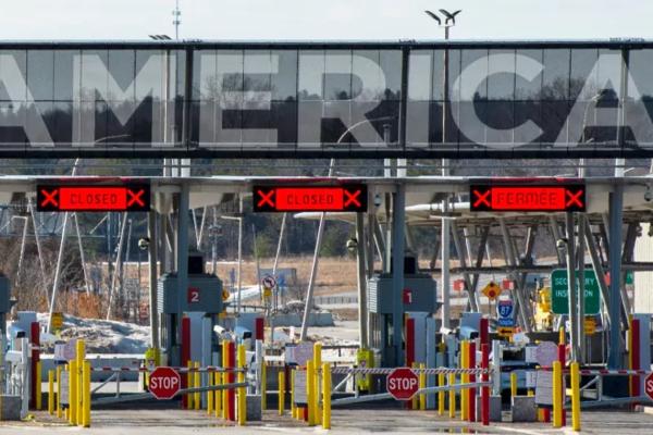 Biên giới Canada-Mỹ có thể phải đóng cửa đến năm 2021