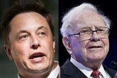 Elon Musk giàu hơn Warren Buffett