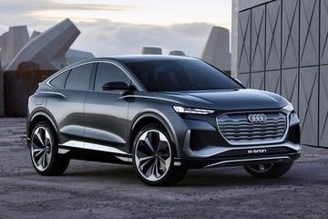 Audi ra mắt mẫu xe Q4 Sportback E-Tron Concept